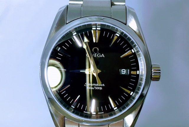 size 40 260de 644c6 修理事例13/オメガ シーマスター アクアテラ | 高級腕時計 ...